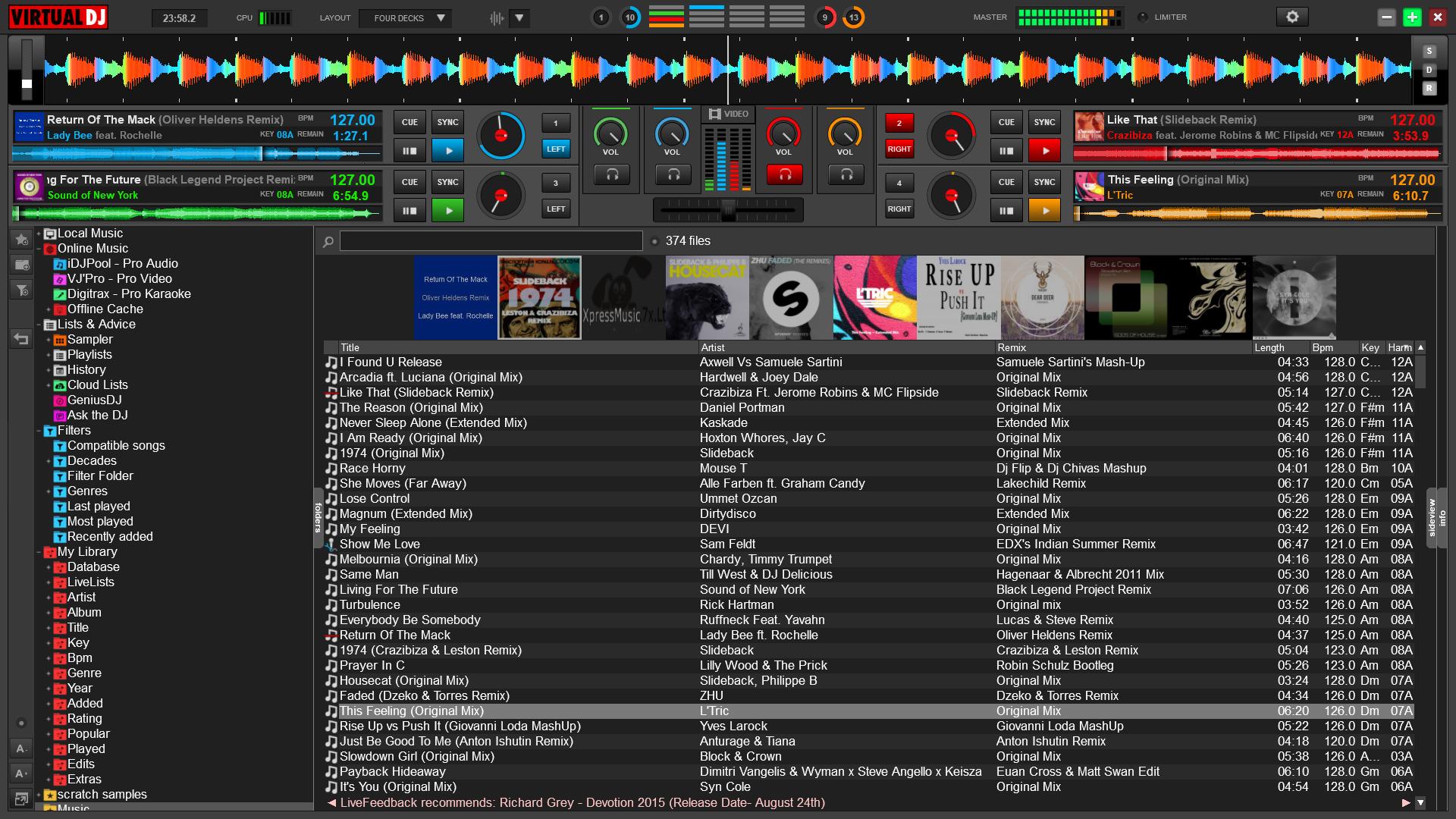 VIRTUAL DJ WORK CONTROLLERS