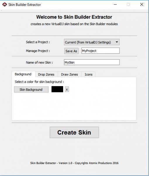 DJ Software - VirtualDJ - Skin Builder