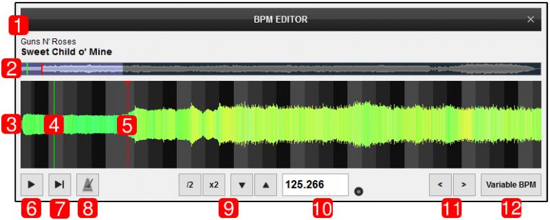 VirtualDJ Has An Advanced Sound Engine That Will Calculate The Tempo BPM Value And Beat Grid CBG Of Your Tracks With Accuracy In Almost All Cases