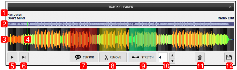 DJ Software - VirtualDJ - User Manual - Editors - Track cleaner