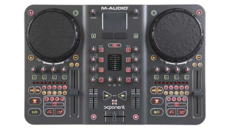 DJ Software - VirtualDJ - Hardware - M-AUDIO XPONENT