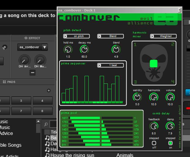 DJ Software - VirtualDJ - VST Effects in VDJ