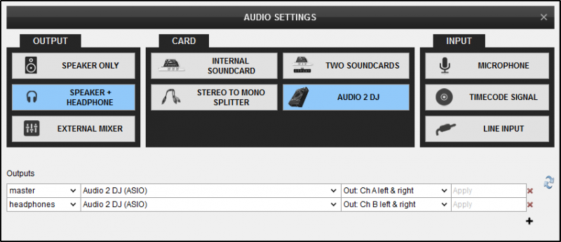 DJ Software - VirtualDJ - User Manual - Settings - Audio