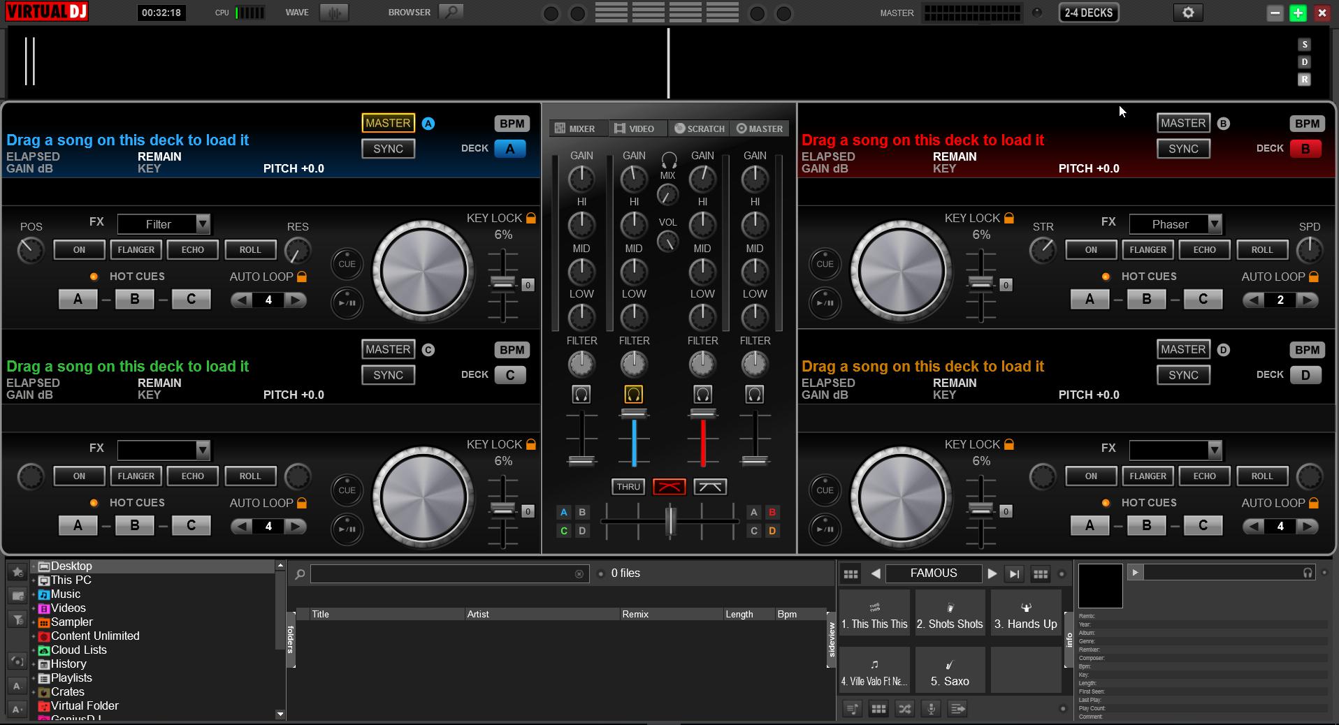 Virtual DJ Plugin