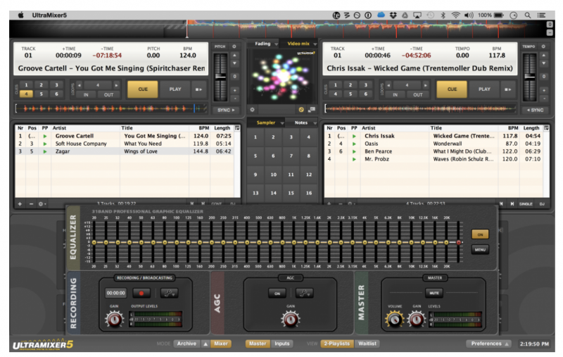 DJ Software - VirtualDJ - Graphic EQ