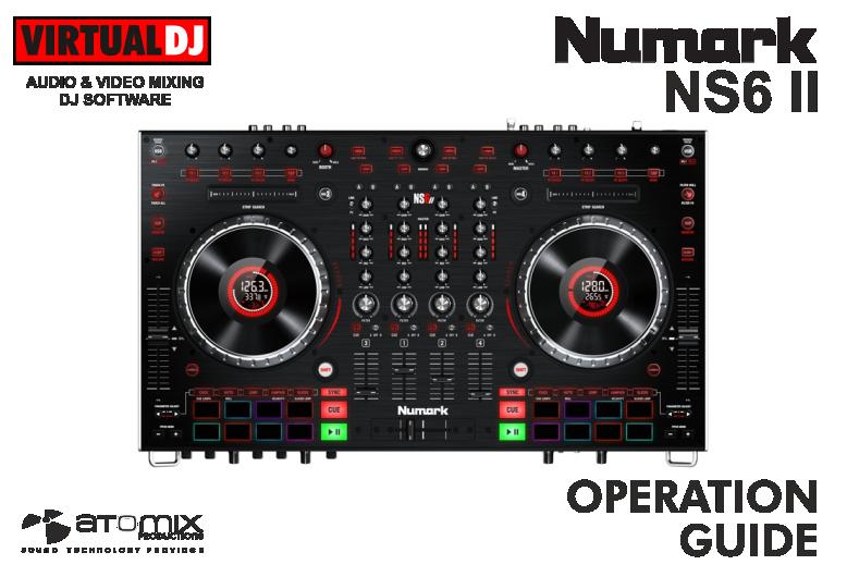 numark ns6 drivers virtual dj