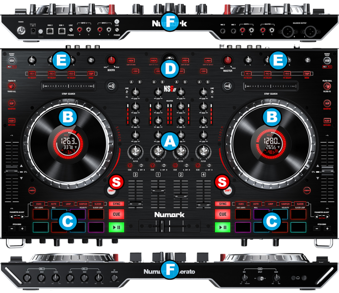 Skins numark ns6 virtual dj | Download Virtual dj numark ns7