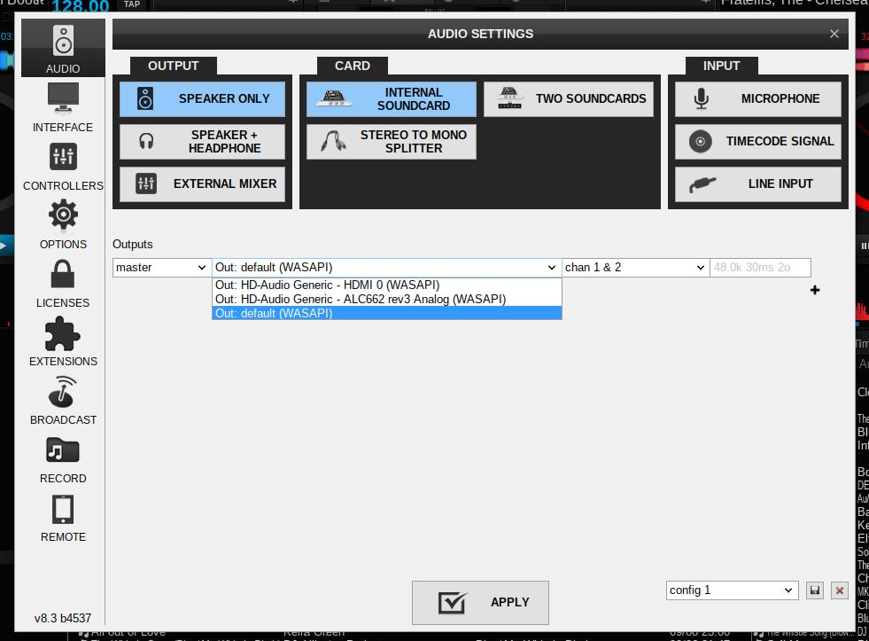 DJ Software - VirtualDJ - running VDJ8 under UBUNTU LINUX