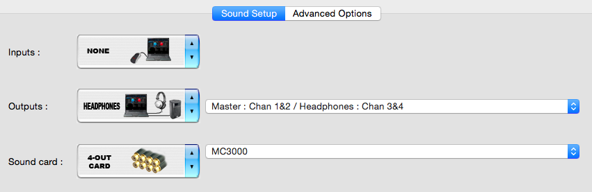DJ Software - VirtualDJ - Denon MC3000 Mac config trouble - no sound