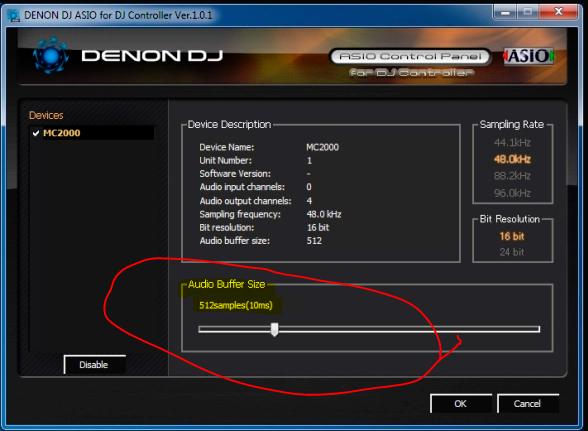 DJ Software - VirtualDJ - Problem with sound briefly stuttering